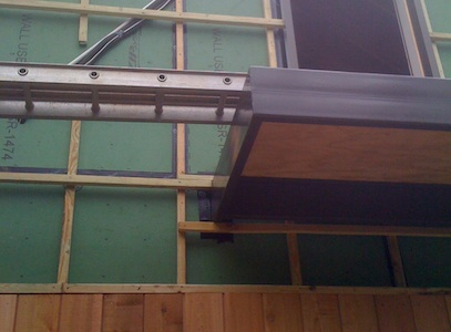 <p>Here is a look at the cantilevered rear porch and rain screen detail.</p> <p></p>